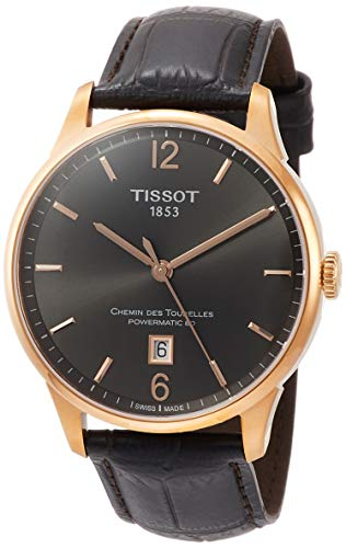 Tissot Men's Chemin Des Tourelles Swiss Automatic Stainless Steel Dress Watch (Model: T0994073644700)