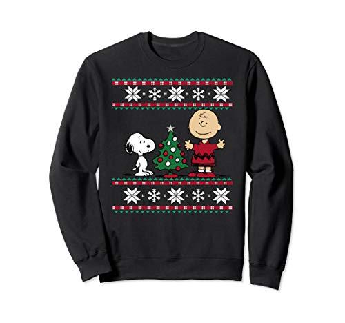 Peanuts Snoopy and Charlie Christmas Sweatshirt