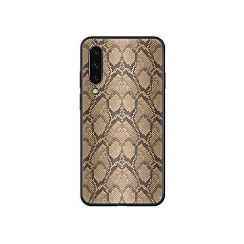 Phonecase - Carcasa para Samsung Galaxy A 3 5 7 10 20 30 40 50 51 70 71 E S Plus, diseño de leopardo, color negro