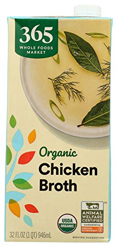 365 by Whole Foods Market, Organic Broth, Chicken, 32 Fl Oz