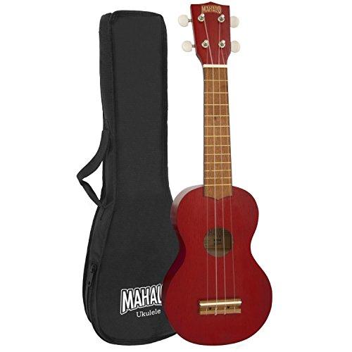 Mahalo Kahiko ukelele Soprano 2500 Series - rojo
