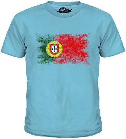 Candymix Portugal Drapeau D/élav/é T-Shirt Homme