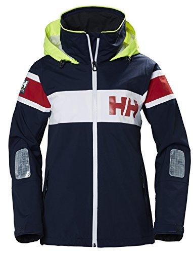 Helly Hansen Damen W Salt Flag Jacke, Navy, M