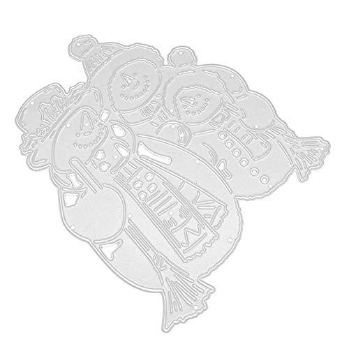 Case&Cover Navidad Troqueles De Corte para La Fabricación De La Tarjeta, Ularma Metal Dies Álbum De Recortes De Estampado De Bricolaje Manualidades Plantillas
