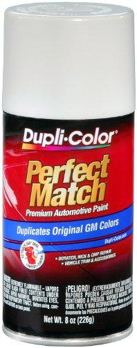 Dupli-Color EBGM04347 Olympic White General Motors Exact-Match Automotive Paint - 8 oz. Aerosol