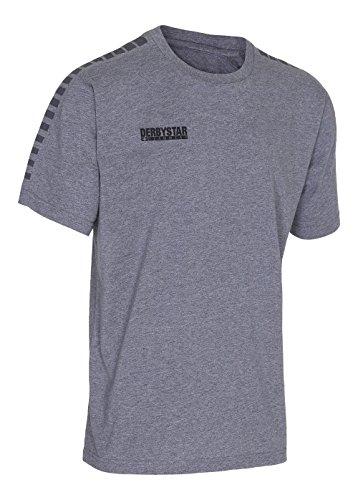 Derbystar Ultimo T-Shirt Unisexe, Gris, L
