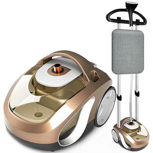 FSJD Máquina Inteligente de Planchado a Vapor de Doble Polo para el hogar pequeña Plancha eléctrica máquina de Planchar Colgante de Mano Plancha, Oro