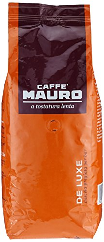 Mauro Kaffee De Luxe Bohnen, 1er Pack (1 x 1 kg)