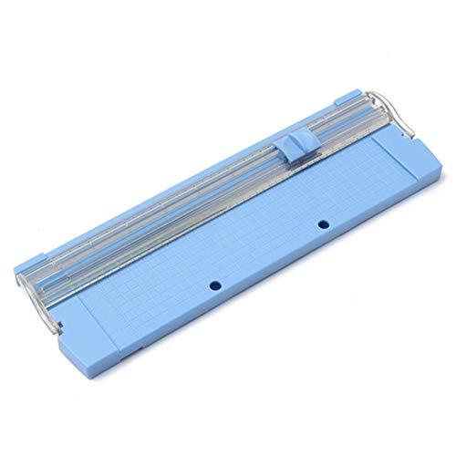 Professional Handbuch A4 Papier Trimmer Mähklingen 26 x 8.5cm Tragbarer Papier Trimmer Cutter