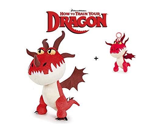 HTTYD Drachenzähmen leicht gemacht - Dragons - Plüsch Figur Kuscheltier Drachen Hakenzahn 9'84