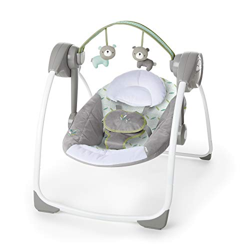 41qQGYDQmIL 10 Best Portable Baby Swings on the Market 2021 Review