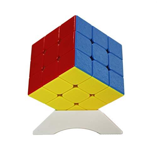 OJIN Shengshou Mr.M 3x3 Gema Baoshi Velocidad Magnética Cubo Mágico Puzzle Teaser Twist Puzzle sin Pegatinas con Una Bolsa de Cubo y Un Cubo Trípode
