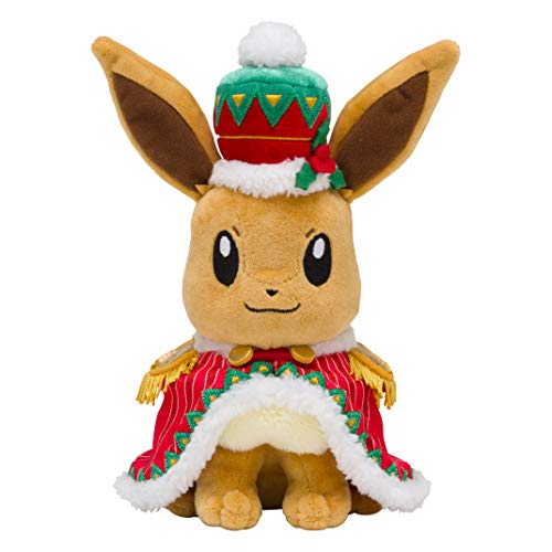 Pokémon Plush Toy Christmas 2018 Eevee by Pokémon Center Original