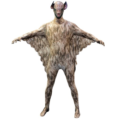Morphsuits Vampire Bat Kids Animal Planet Costume – Size Large 4′-4'6 (120cm-137cm)