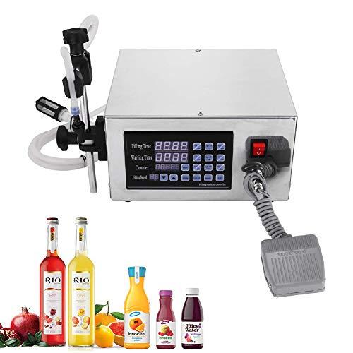 Automatische Digitale Flüssigkeitsfüllmaschine Schlauchpumpe Kommerziellen Flaschenfüller Digitale Füllmaschine Füllpumpe für Speiseöl, Getränke, Wasser (5-3500ml)