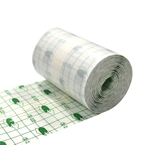 wasserdichtes pflaster transparentes pflaster rolle Medizinisches Klebeband Wundverband Fixierer Pflaster Stretch Fixation Tape Tattoo Aftercare Bandage, 10 cm x 10 m