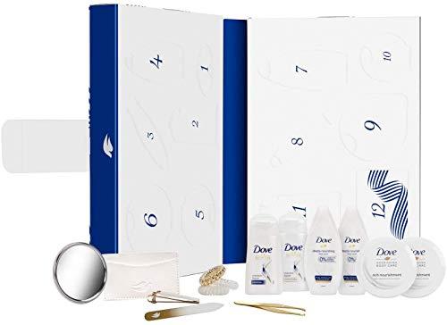 Dove Nourishing Secrets Amazon exklusiver Adventskalender 2020, festlicher Countdown-Geschenk-Set, Körper- und Hautpflege-Set, für Sie, umweltfreundliche Verpackung