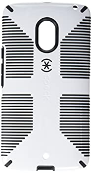 Speck Products73454-1909 CandyShell Grip Case for Motorola Droid Maxx 2 White/Black
