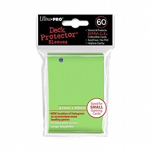 Ultra Pro - 330555 - Jeu De Cartes - Housse De Protection - Citron Vert - 60 Pièces - Petit - D10