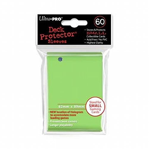 Amigo Spiel + Freizeit Ultra PRO 84100–Deck per Small Sleeves 60, Colore: Verde Lime