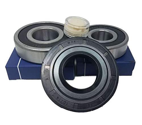 Kugellager Lagersatz Lager 6305 RS 6306 RS Wellendichtung 1751621 für Waschmaschine Miele