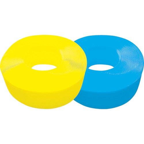TRUSCO(トラスコ) 手締用PPバンド 15.5mm×1000m巻 段ボールパック 黄 TPP-155YD
