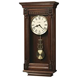 Lewisburg Wall Clock in Antique Brass<br> Howard Miller 625474
