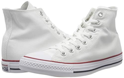 Converse Unisex Chuck Taylor All Star Hi Optical Wht Basketball Shoe 5.5 Men US / 7.5 Women US