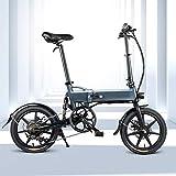 INOVIX Maidesite Bicicleta Eléctrica Fiido D2s para Adultos, Seis Velocidades, Motor De 250W, 16 Pulgadas 7.5ah Rango De 65 Km, hasta 25 Km/h (Plazo De Entrega 7-10 Días