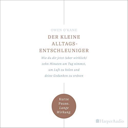 Page de couverture de Der kleine Alltagsentschleuniger