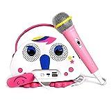 Kids Karaoke Machine with Microphone, Children's Bluetooth Karaoke Wireless Speaker Beach Wireless Cartoon