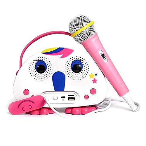 Kids Karaoke Machine with Microphone, Children's Bluetooth...