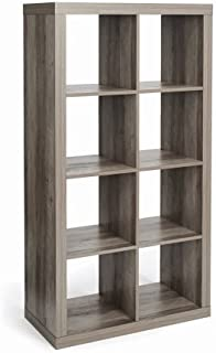 Modern Better Homes and Gardens 8-Cube Organizer, Rustic Gray + Free Home Decors