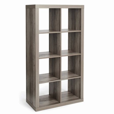 Better Homes and Garden 8-Cube Organizer (Rustic Gray, Eight Cube)