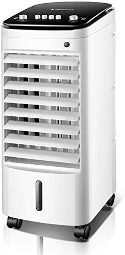 Refrigerador de aire doméstico Acondicionador de aire portátil doméstico, Mojo Mute Evaporativo Circulador de aire Ventilador de enfriamiento Purificar humidificador Aire Cooler-Manualmente 60 * 26 *