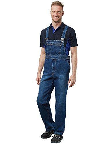 "Pionier 430-52 Jeans Latzhose \""Denim\"" stone washed, Blau, Größe 52"