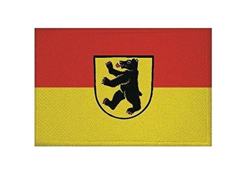 U24 Aufnäher Bernau im Schwarzwald Fahne Flagge Aufbügler Patch 9 x 6 cm