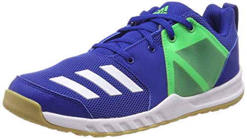 adidas Unisex Fortagym K Fitnessschuhe, Blau (Reauni/Ftwbla/Limsho 000), 38 EU