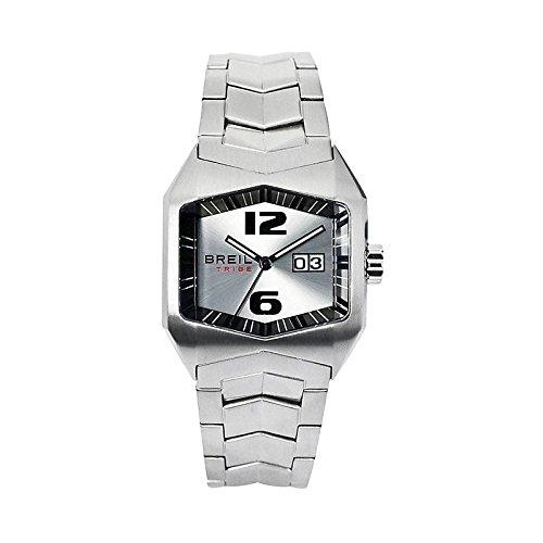Breil Tribe X-Factor TW0516 - Reloj de Caballero de Cuarzo, Correa de Acero Inoxidable Color Plata