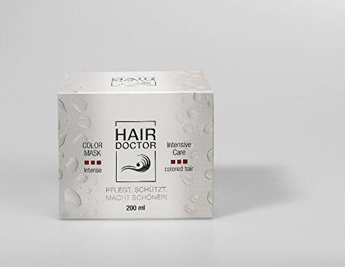 HAIR DOCTOR - COLOR INTENSE MASK - Professionelle Farbintensivierungs Haarmaske pflegend mit Mango Kern-Öl 200ml