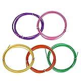 Cuerda de repuesto de 3 m para crossfit intercambiable de velocidad, comba, entrenamiento, entrenamiento, fitness, equipo (color rojo)