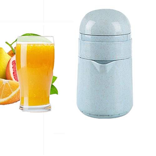 2-in-1-Küche Manuelle Entsafter Tragbare Rotary Squeeze Saft-Maschine, Kann Für Trauben Zitrone Grapefruit Citrus Wassermelonensaft Sammlung Verwendet Werden - Mit Leicht Zu Reinigendem Behälter