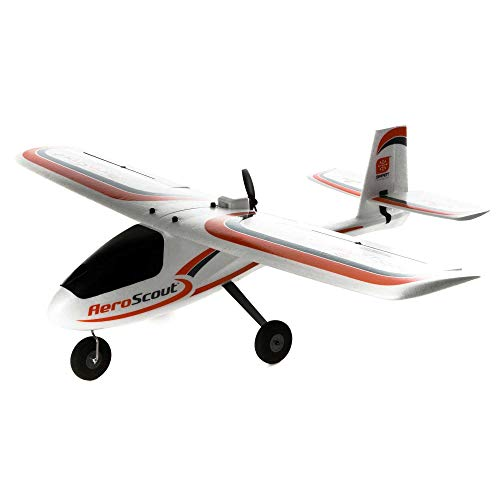 HobbyZone AeroScout S 1.1m RC Airplane RTF (Ready-to-Fly Includes Transmitter