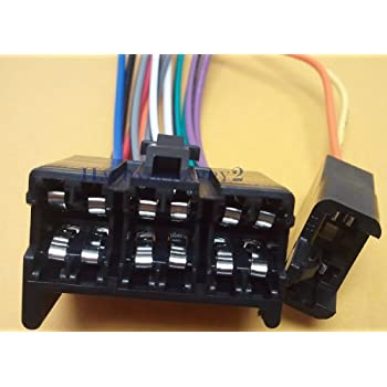 Amazon.com: Stereo Wire Harness Chevy S10 Pickup 87 88 89 (car Radio Wiring  Installation: Car ElectronicsAmazon.com