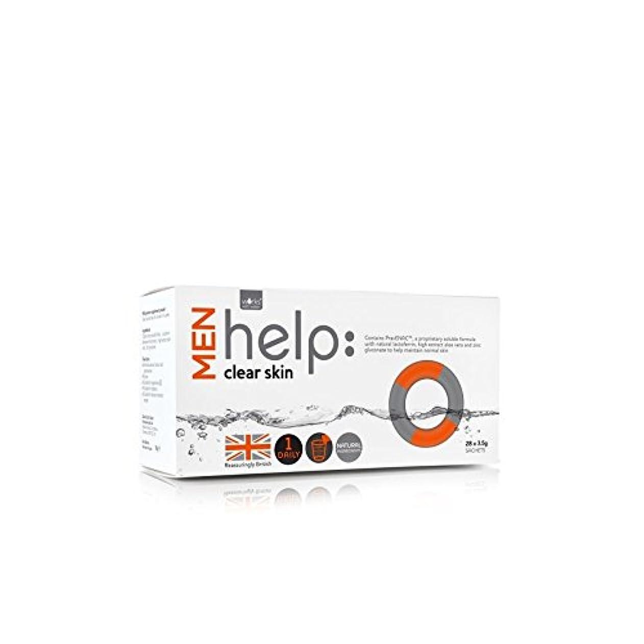 急襲慣性放射能Works With Water Men's Help: Clear Skin Soluble Supplement (28 X 3.5G) (Pack of 6) - クリアな肌可溶性サプリメント(28 3.5グラム):水男性の助けを借りて動作します x6 [並行輸入品]