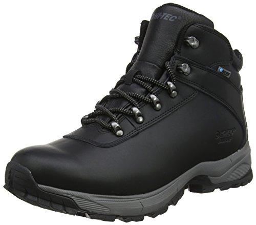 HI-TEC Eurotrek Lite WP, Chaussures de Randonnée Hautes Homme, Noir (Black), 44 EU