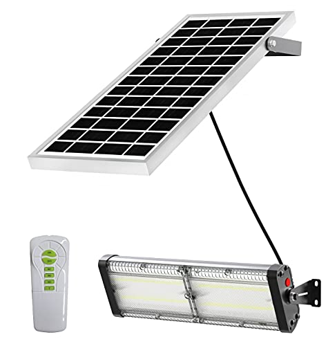 Solar Barn Lights with Remote Control,...