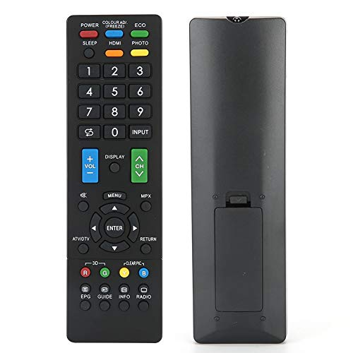 Universele afstandsbediening, duurzame zwarte televisiecontroller Accessoire voor tv-afstandsbediening voor Sharp RM-L1238