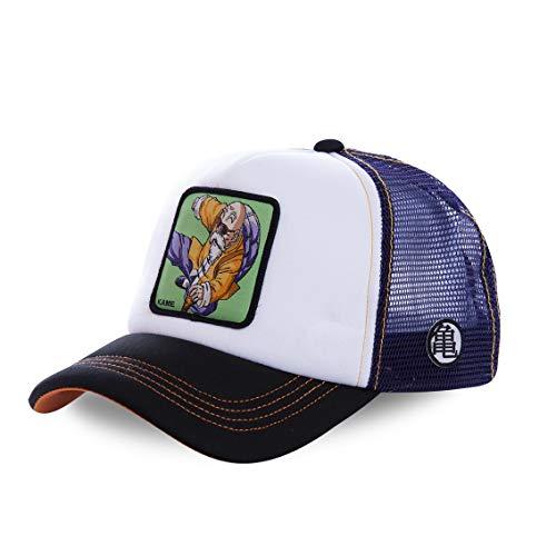 Capslab Muten Roshi Trucker Cap Dragon Ball Z White/Black/Purple - One-Size
