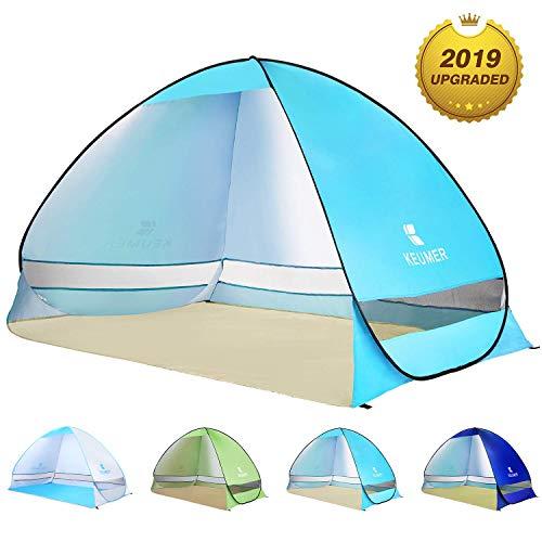 BATTOP Pop Up Beach Tent Sun Shelter Cabana Anti UV Beach Shelter...